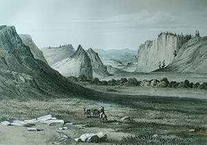 Coo-che-to-pa Pass from the Gunnison-Beckwith Exploration Report, 1855.