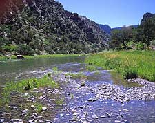 Gunnison River at Red Reck Canyon