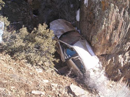 Gunnison Colorado Car Crash