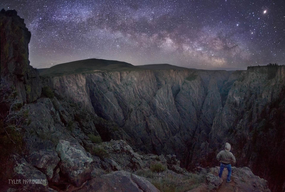 Milky Way Over Black Canyon