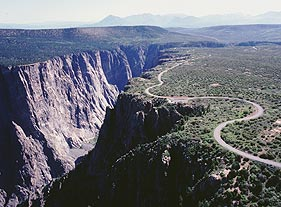 Scenic Drives Black Canyon Of The Gunnison National Park US