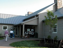 Visitor Center at Explore Park