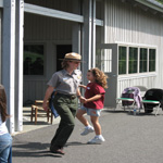 Flat Foot Dancing at the Blue Ridge Music Center