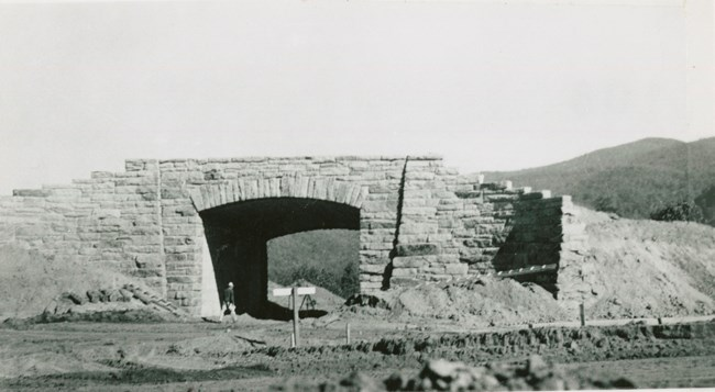 irish gap bridge construction