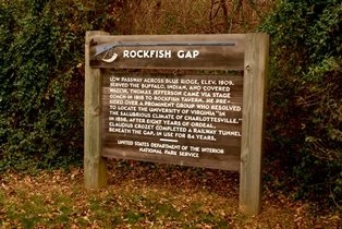 brpw va rockfish gap sign by vicki dameron hrz