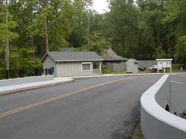 Otter Creek campground entrance
