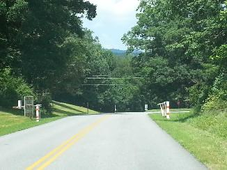 Utility Right of Way over Blue Ridge Parkway