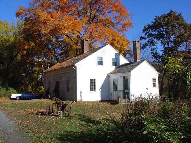 kelly house in fall