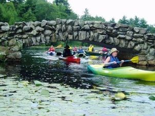 Paddle Club Hopedale Stone Arch br