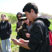 Volunteers learn what to look for and how to record observations.
