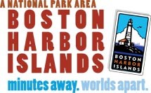 Boston Harbor Islands minutes away, worlds apart logo