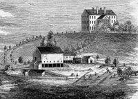 Thompson Island was home to the Boston Farm School
