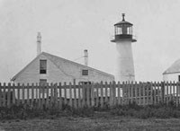 Second tower of Long Island Head Light