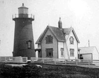 Third tower of Long Island Head Light