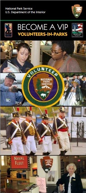 There are many different things you can do as a volunteer at Boston National Historical Park!
