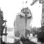 USS MASON is launched