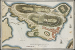 Battle map of Charleston in 1775