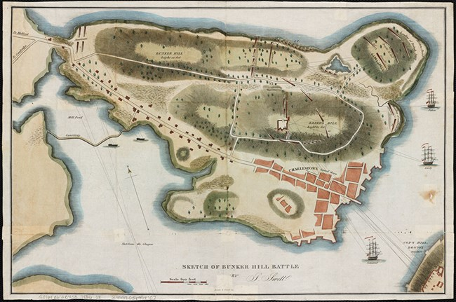 Charlestown Peninsular 1775