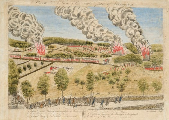 View of the Battle of Lexington