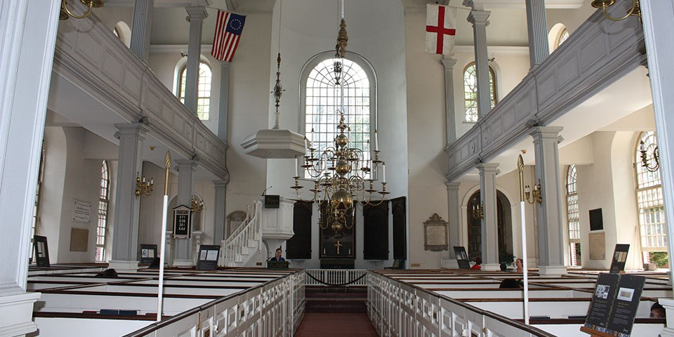 Old North Church Boston National Historical Park Us National