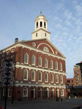 Faneuil Hall, early morning