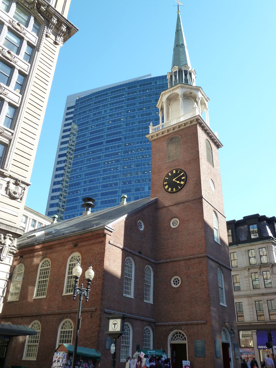 Old South Meeting House Boston National Historical Park