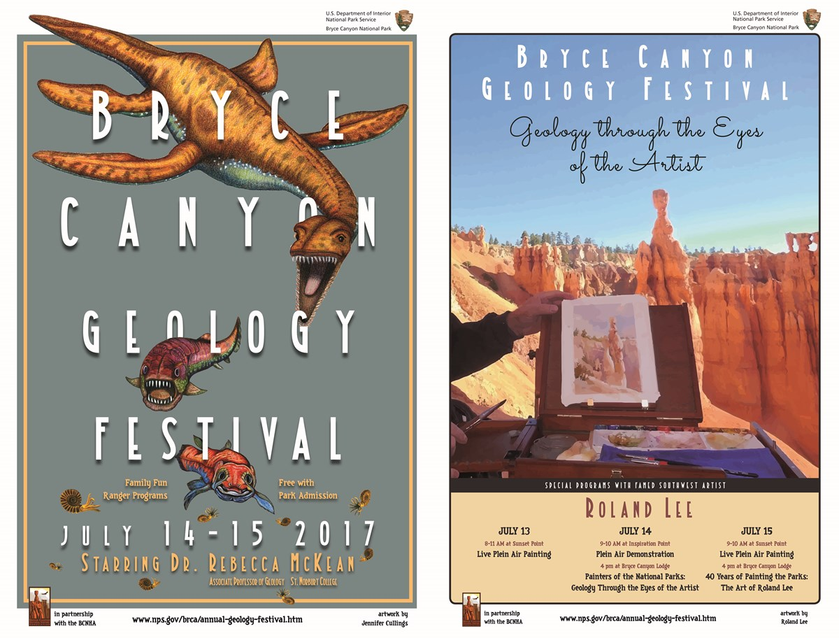 Geology Festival Posters 2017