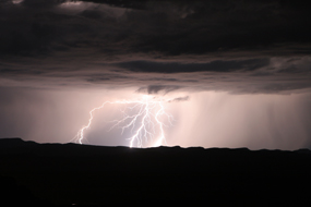 2006 summer lightning at Bryce Canyon National Park