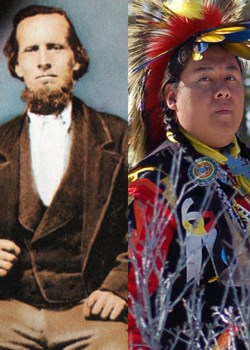 Bryce and Paiute Tribe member Jeremy.