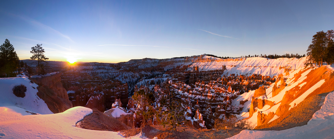 Rim Trail near Sunset at sunrise Point B. Roanhorse BBR 21 Jan 2016