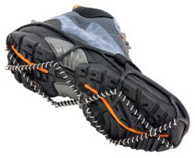 Traction Device attached to footwear