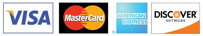 Credit cards currently accepted by the National Park Service for payment of entrance fees.