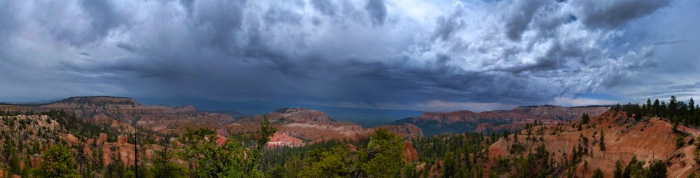 Storm above Sunrise Point. 20140523 Brian B. Roanhorse