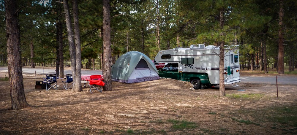 Camping and RVs Go Together