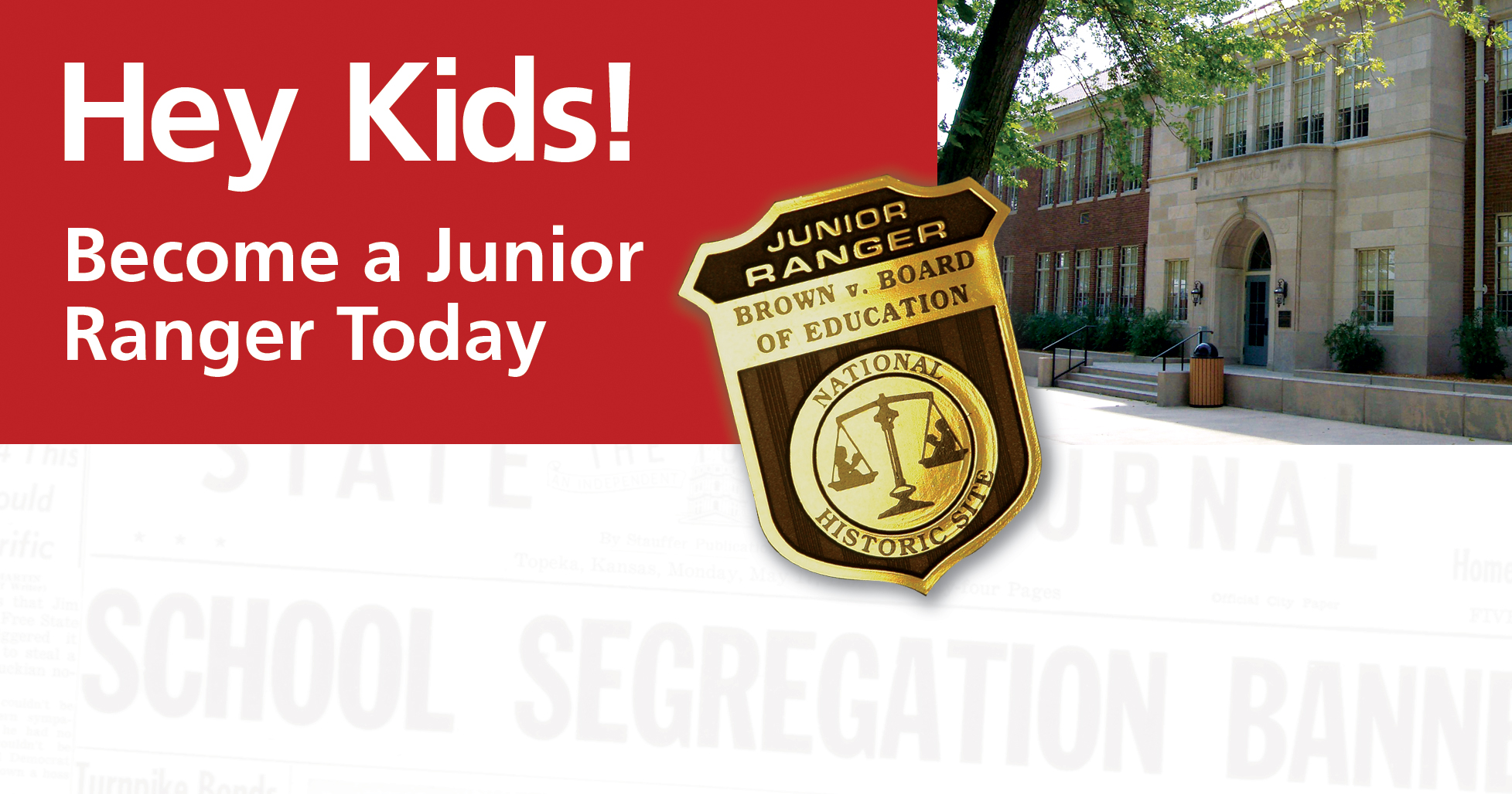 Hey Kids! become a Junior Ranger today!