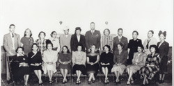 Image of Topeka's African American teachers in 1949.