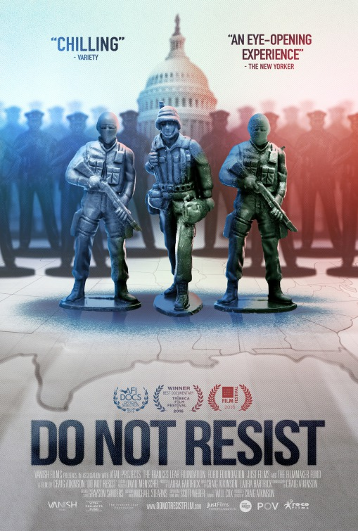 Do Not Resist Promotion Poster