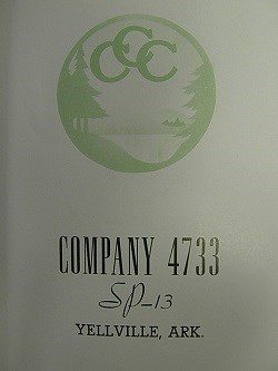 photo of cover of CCC company 4733 book
