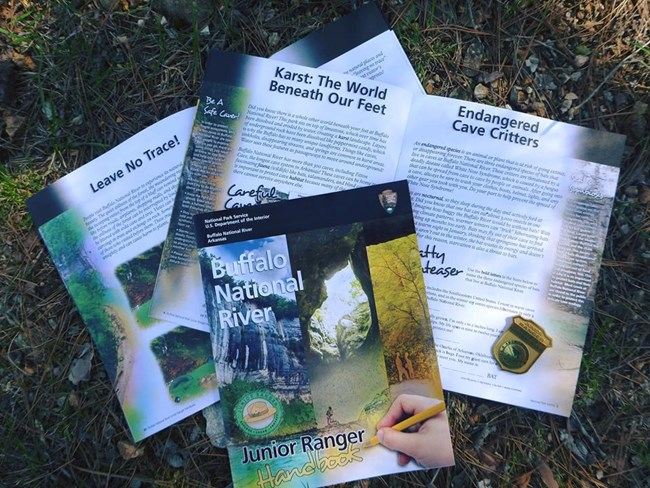 Buffalo River Junior Ranger Booklet