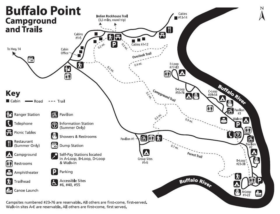 buffalo point campground buffalo national river u s national rh nps gov