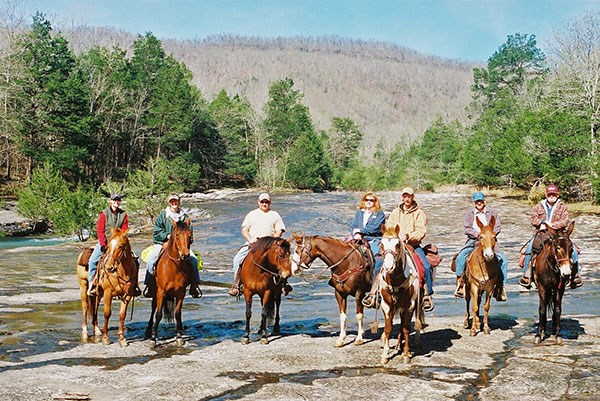 Horseback Riding Buffalo National River U S National