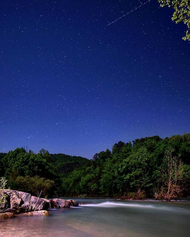 Buffalo River Starry Sky