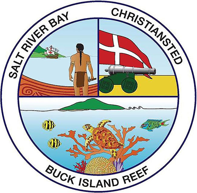 logo for the three national park units for St. Croix, U.S. Virgin Islands