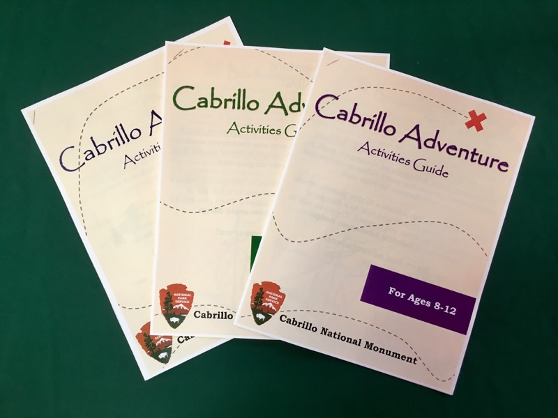 The Cabrillo Adventure Activities Packets