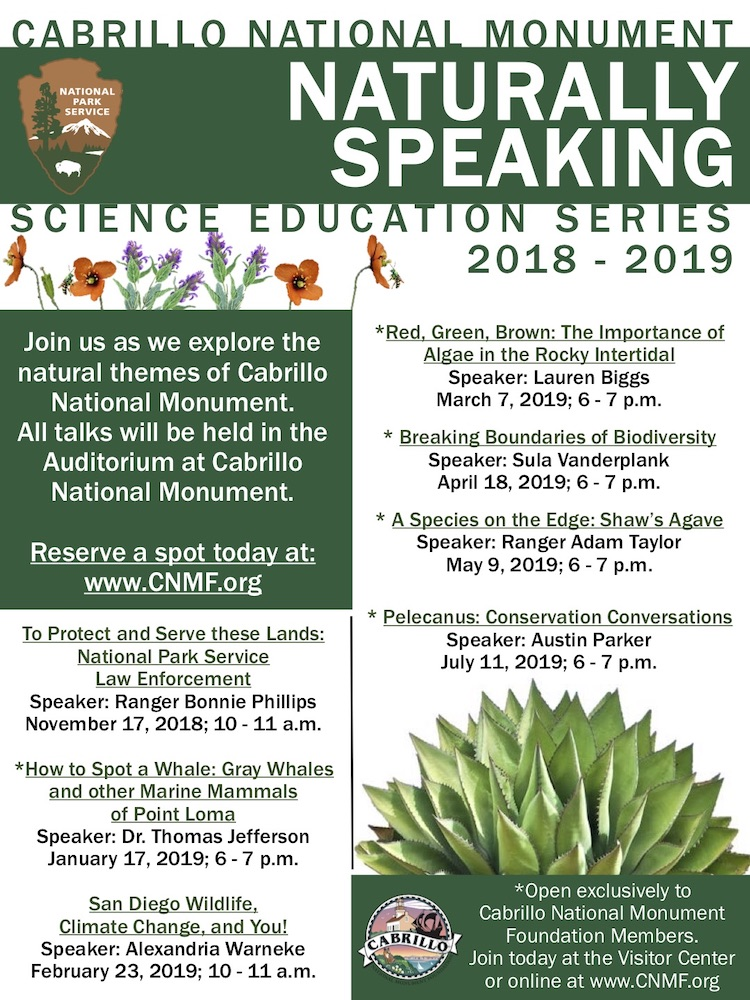 Naturally Speaking: Science Education Series 2018 - 2019
