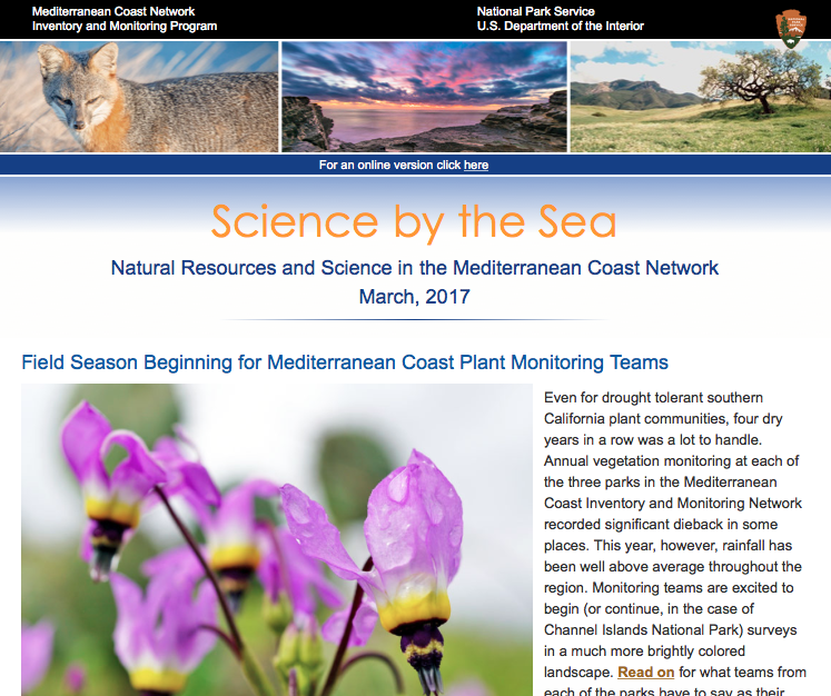 Photo of Science By the Sea Newsletter