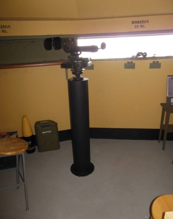 View of the Scope in the Bunker