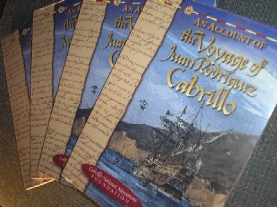 An Account of the Voyage of Juan Rodriguez Cabrillo - Book
