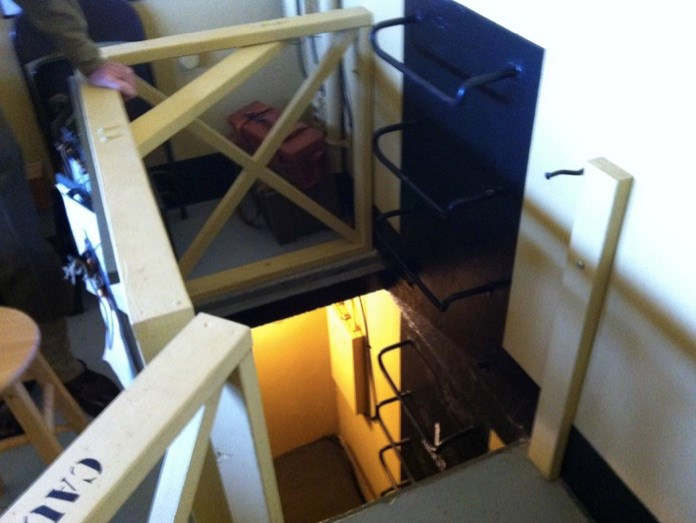 Ladder to the Bunkroom