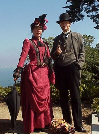Period reenactors at Cabrillo National Monument
